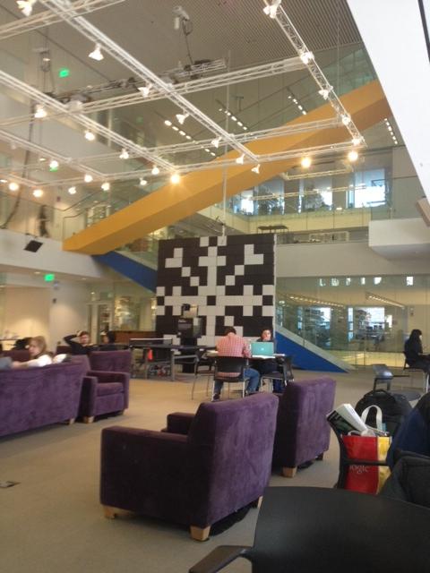MIT Media Lab – Sidewalks and Stairwells